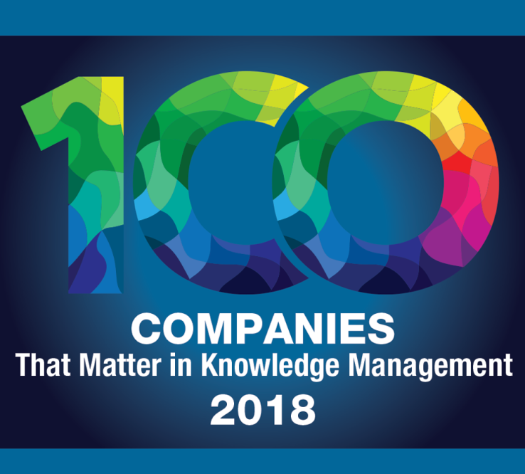 Interfacing Listed in 100 Companies of Knowledge  Management