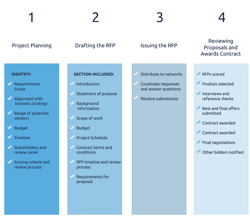 RFP Strategy Development & Requirement Assessment | BPM Services
