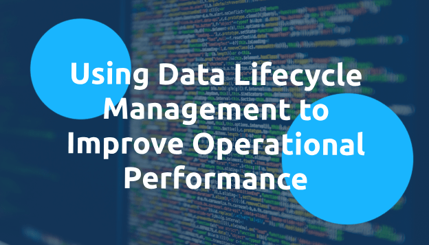 Using Data Lifecycle Management to Improve Operational Performance