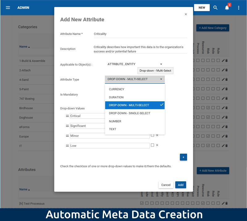 1-3 Customizable Data