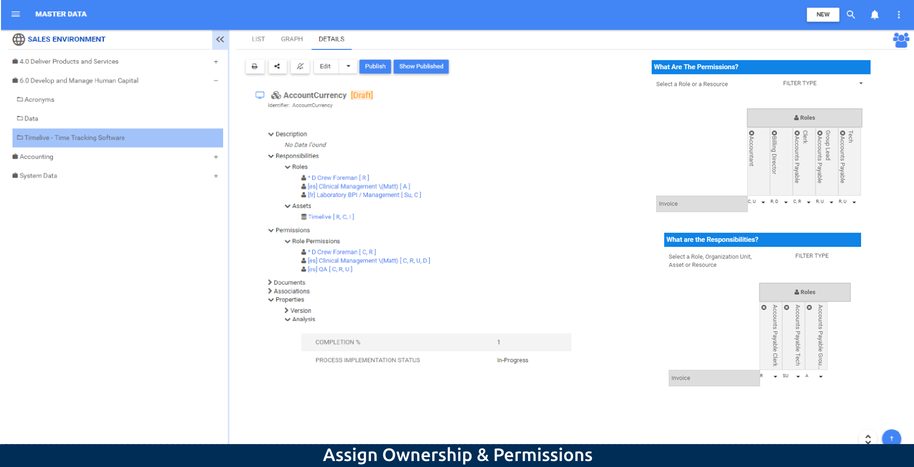 2-1 Assign Ownership & Permissions